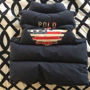 Ralph Lauren Polo puffer vest 3T-NWOT